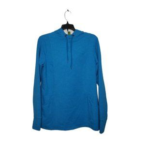 ROOTS blue pullover hoodie small